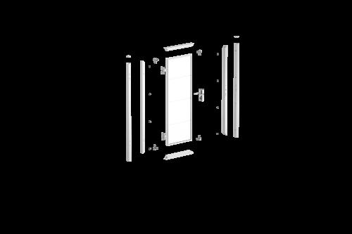 Взрыв-схема калитка